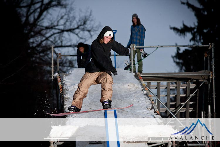 local rail jam - hyde park boise Idaho